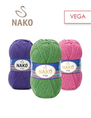 - Nako Vega El Örgü İplikleri - BU ÜRÜN 5 ADET / PAKET OLARAK SATILMAKTADIR