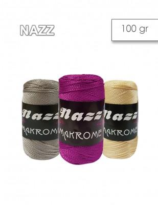 - Nazz Makrome El Örgü İplikleri - 100 gr