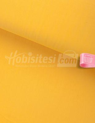 Nevresimlik Düz Akfil Kumaş - Limon Sarısı - En 240 cm