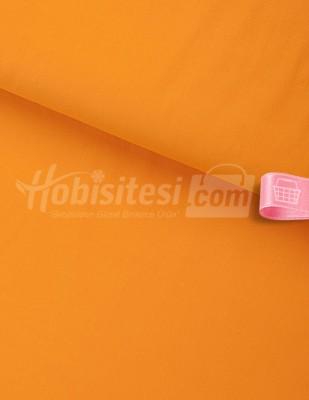 - Nevresimlik Düz Akfil Kumaş - Orange - En 240 cm