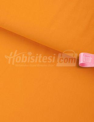 Nevresimlik Düz Akfil Kumaş - Orange - En 240 cm