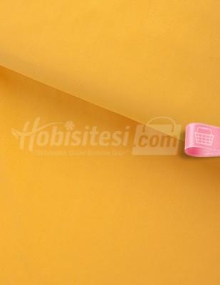 - Nevresimlik Düz Akfil Kumaş - Sarı - En 240 cm