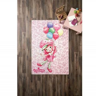 - No Name Strawberry Shortcake Ballons Halı - 80x140 c
