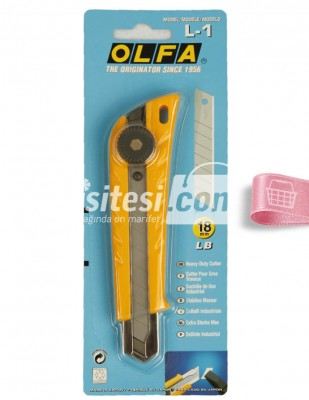 OLFA - Olfa Maket Bıçağı - L1 - 18 mm