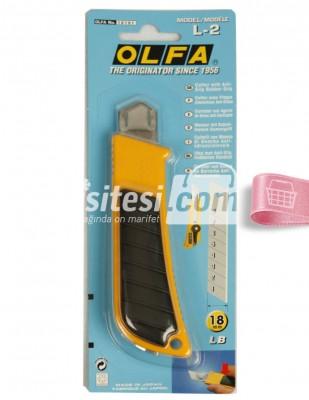 OLFA - Olfa Maket Bıçağı - L2 - 18 mm
