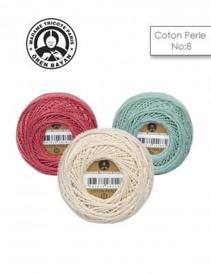 ÖREN BAYAN - Ören Bayan Coton Perle El Nakış İplikleri - No 8