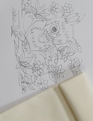 - Panç Nakış Seti - 25 x 25 cm - Bambi (1)