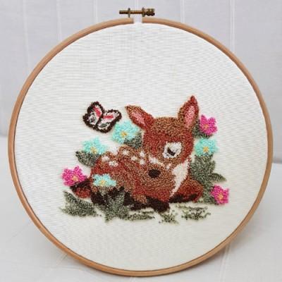 - Panç Nakış Seti - 25 x 25 cm - Bambi