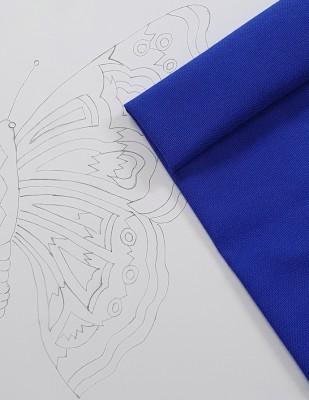 - Panç Nakış Seti - 40 x 40 cm - Mavi Kelebek (1)