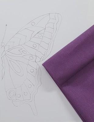 - Panç Nakış Seti - 40 x 40 cm - Mor Kelebek (1)