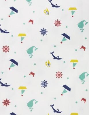 - Pazen Kumaş - Deniz Figürleri - En 240 cm - 34105