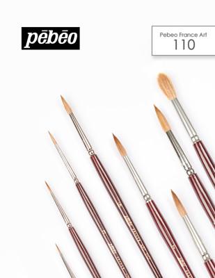 PEBEO - Pebeo 110 Seri Çok Amaçlı Samur Fırçalar