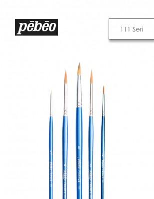 PEBEO - Pebeo 111 Seri Fırçalar- Golden Sentetik, Sulu Boya