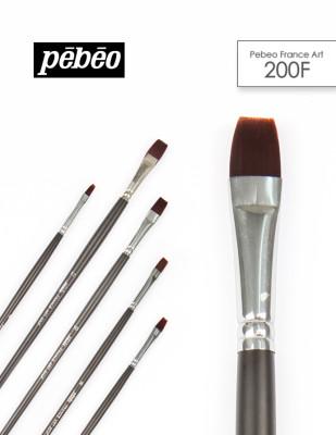 PEBEO - Pebeo 200F Seri Çok Amaçlı Fırçalar - Akrilik ve Yağlı Boya