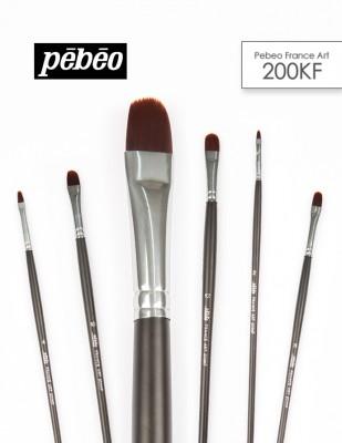 PEBEO - Pebeo 200KF Seri Çok Amaçlı Fırçalar - Kedi Dili Fırçalar
