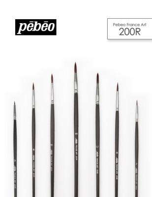 PEBEO - Pebeo 200R Seri Çok Amaçlı Fırçalar - Akrilik ve Yağlı Boya