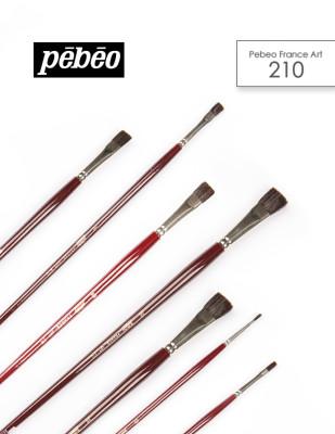 PEBEO - Pebeo 210 Seri Samur Fırçalar - Akrilik ve Yağlı Boya Fırçaları