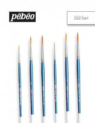 PEBEO - Pebeo 222 Seri Yüksek Kalite Golden Sentetik Fırçalar