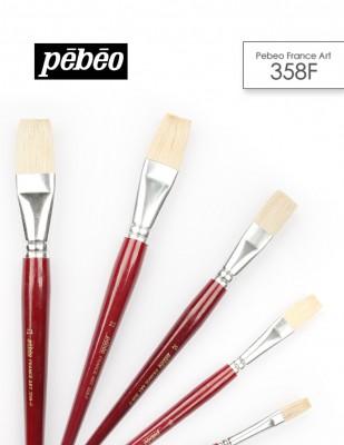 PEBEO - Pebeo 358F Seri Çok Amaçlı Fırçaları - Düz Kesik Fırçalar (1)