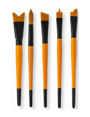PEBEO - Pebeo Çok Amaçlı Fırça Seti - 5li Fırça - Set 19 (1)