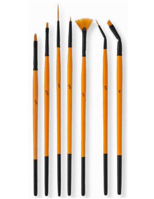 PEBEO - Pebeo Fırça Seti - Çok Amaçlı 7li Fırça - Set 18 (1)