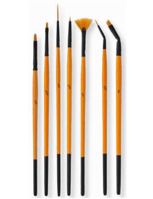 Pebeo Fırça Seti - Çok Amaçlı 7li Fırça - Set 18
