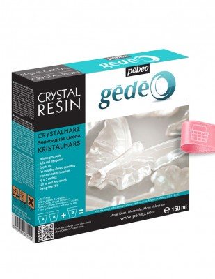 PEBEO - Pebeo Gedeo Crystal Resin, Kristal Reçine - 150 ml