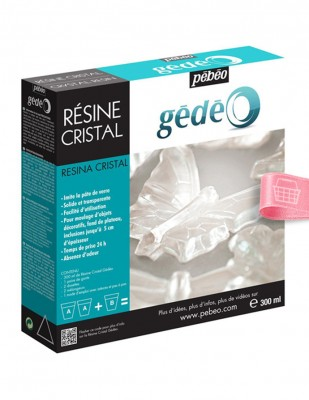 PEBEO - Pebeo Gedeo Crystal Resin, Kristal Reçine - 300 ml