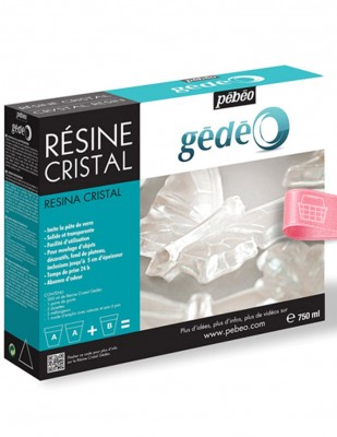 PEBEO - Pebeo Gedeo Crystal Resin, Kristal Reçine - 750 ml