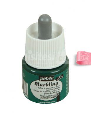 Pebeo Marbling Damlalıklı Ebru Boyası - 45 ml