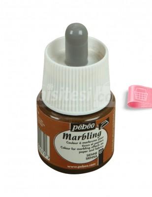 Pebeo Marbling Damlalıklı Ebru Boyası - 45 ml - Thumbnail