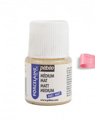 PEBEO - Pebeo Porcelaine 150 - Matt Medium - Mat Vernik