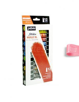 Pebeo Studio Huile XL Yağlı Boya Seti - Her Tüp 12 ml - 12 renk