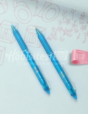 PİLOT - Pilot Frixion Silinebilir Tekstil Kalemi - Açık Mavi