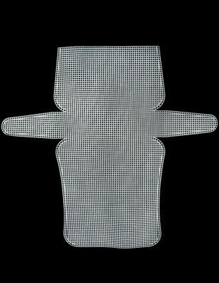 - Plastik Kanvas - Çanta - 22 x 44,5 cm