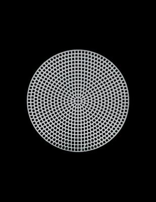 - Plastik Kanvas - Daire - Çap 11,5 cm