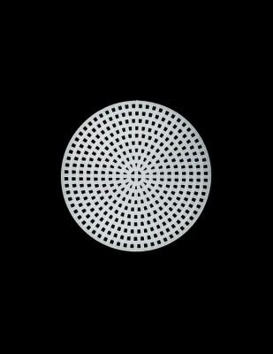 - Plastik Kanvas - Daire - Çap 7,5 cm