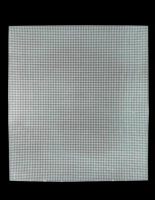 - Plastik Kanvas - Kare - 37 x 41,5 cm