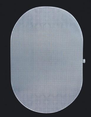 - Plastik Kanvas - Oval - 46 x 30 cm