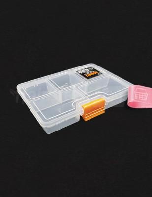 """- Plastik Saklama Kabı - 5"""" - 13 x 9 x 3 cm"""