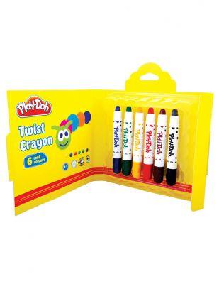 Play-Doh Twist Mum Boya Seti - 11 mm6 Renk