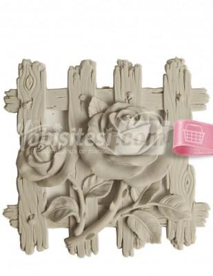- Polyester Duvar Süsü - Pano - 30 x 30 cm - DU429
