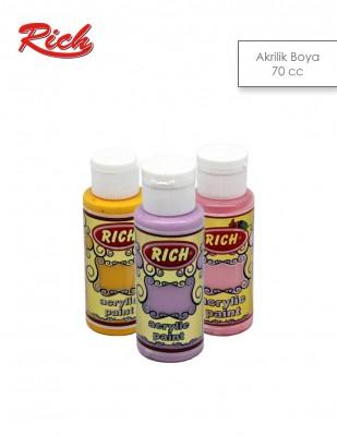 RICH - Rich Akrilik Boya - Opak Renkler - 70 cc