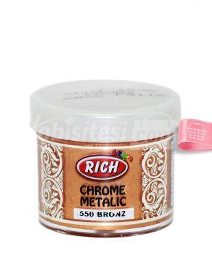 Rich Chrome Metalik Boya - 50 cc