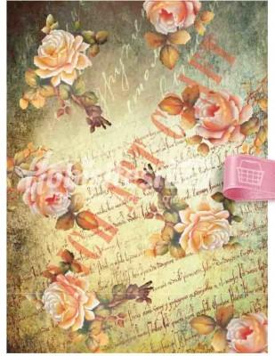 RICH - Rich Dekupaj Kağıdı - 35 x 45 cm Takribi - 9222