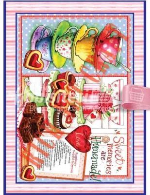 RICH - Rich Dekupaj Kağıdı - 35 x 45 cm Takribi - 9268