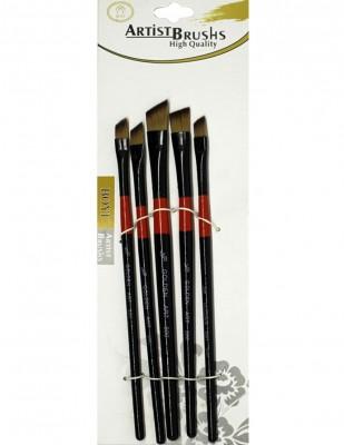 RICH - Rich Fırça Seti - 500 Seri Golden Art - 5li Fırça Seti