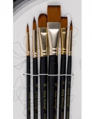 - Rich Fırça Seti - 6lı Karışık Fırça Seti - Set 2