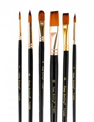 RICH - Rich Fırça Seti - 6lı Karışık Fırça Seti - Set 2 (1)