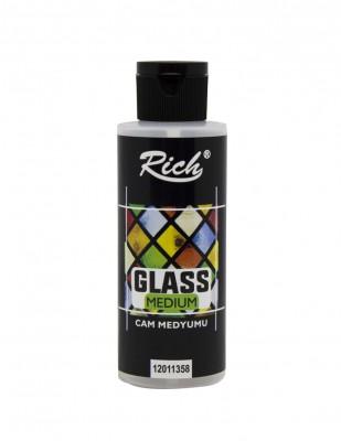 RICH - Rich Glass Medium Cam Medyumu - 120 cc